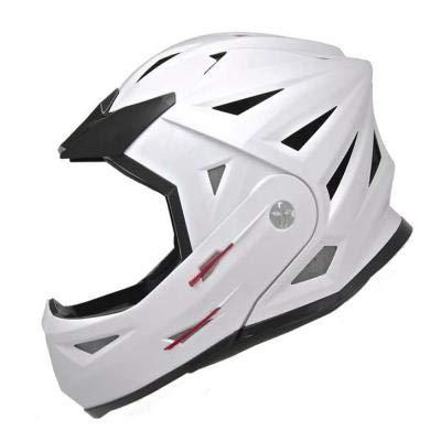 SHIRO - 000813-0001-M/449 : SHIRO - 000813-0001-M/449 : Casco Modular Desmontable Deportes de Riesgo SH-204 X-Treme Color Blanco Talla M