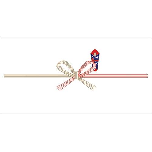 ササガワ OA対応のし紙 熨斗紙 豆判6号 祝 京 2-16 1セット 1000枚:100枚×10冊