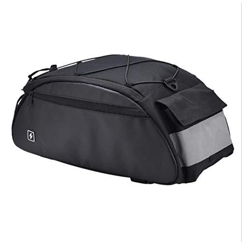 Bolsa de bicicletas Llevar a hombros moto tronco paquete del bolso con...