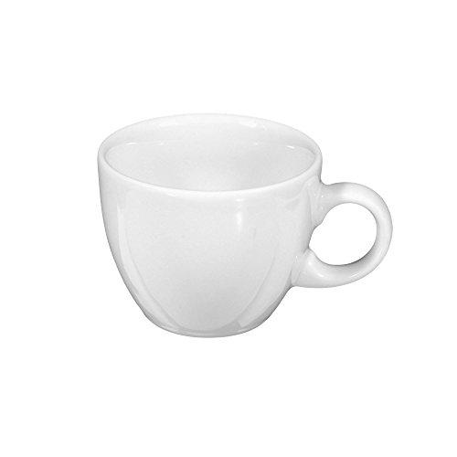 Espressotasse 8,5 cm VIP. white uni 00003 24 Stück von Seltmann Weiden