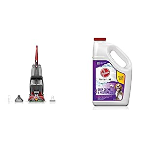 Hoover Power Scrub Deluxe Carpet Cleaner Machine, Upright...