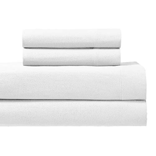 Royal's Heavy Soft 100% Cotton Flannel Sheets, 4pc Bed Sheet Set, Deep...
