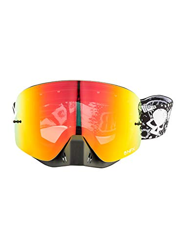 GRENZGAENGER NFX Goggles MX red ionized