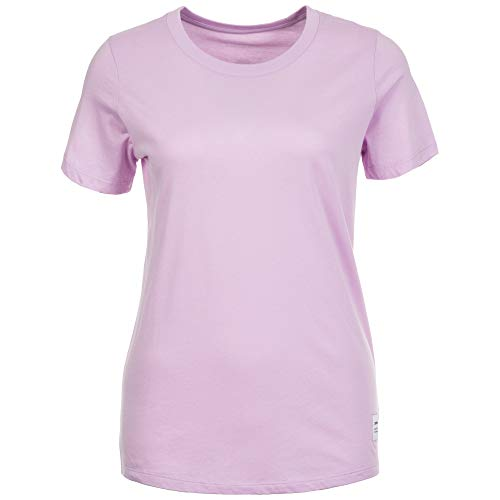 Converse Essentials T-Shirt Femme, Pourpre, FR : S (Taille Fabricant : S)
