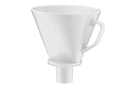 alfi 0096.010.000 Kaffeefilter Aroma Plus Porzellan, weiss, Größe 4, Kannenfilter zum direkten Brühen in 1 oder 2 Tassen bzw. Kannen mit größerem Ausgießer