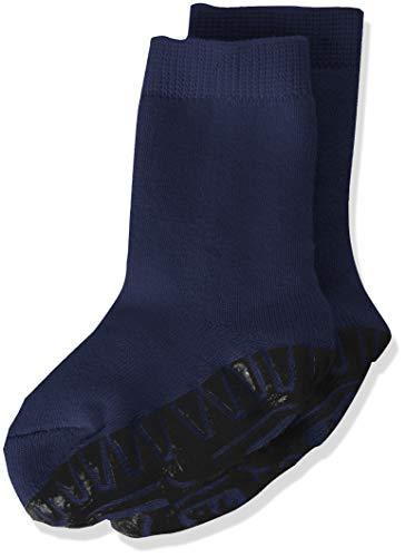 Sterntaler Calcetines con Suela de Goma Antideslizante, Azul (Marine 300), 26 para Niños