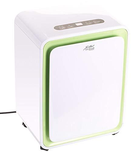 Sichler Haushaltsgeräte Bautrockner: Digitaler Luftentfeuchter mit Timer für Räume bis 30 m², 12 Liter/Tag (Luftentfeuchter elektrisch)
