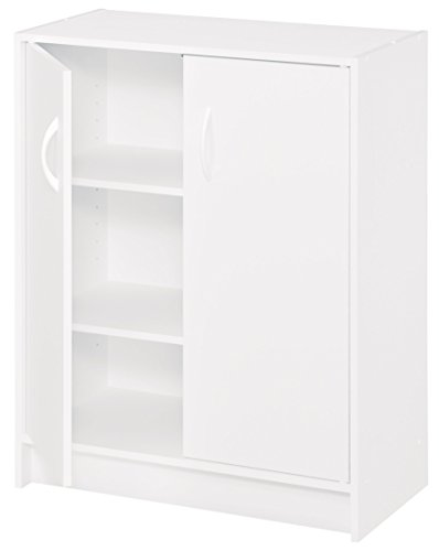 ClosetMaid 8982 Stackable 2-Door Organizer, White