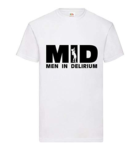 MID Men in Delirium mannen T-shirt - shirt84.de