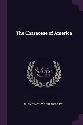 CHARACEAE OF AMER