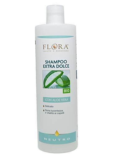 Flora Shampoo Extra Dolce Bio Bdih - 1000 ml