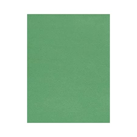 LOCKWOOD GREEN Cardstock Paper Cover 25 Sheets from Cardstock Warehouse 8.5 x 11 inch Premium 100 lb
