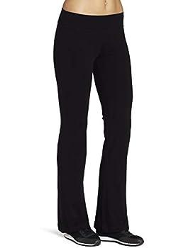 Spalding Women s Yoga Bootleg Pant Black Medium