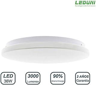 comprar comparacion LED Lámpara de Techo 36W Interior Plafón Moderna LED de Techo Redonda Ultra fina IP 20 170-265V AC SMD 2835 Epistar Vida ú...