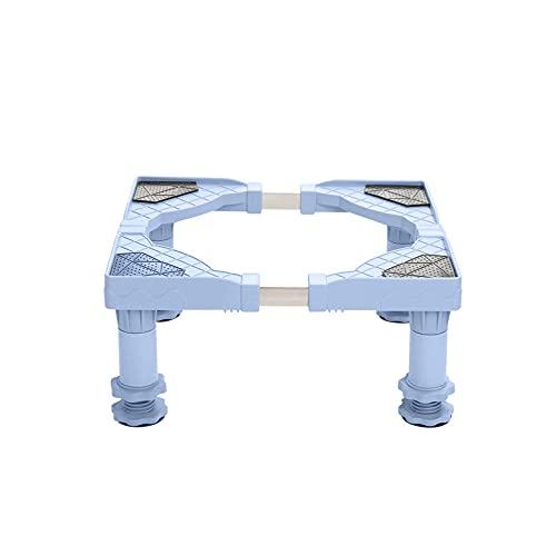 Refrigerador Soporte de Base para Lavadora Soporte de refrigerador Ajustable Elevado Longitud 50-60cm Soporte para Lavadora y Secadora Soporte de Pedestal para Aire Acondicionado Vertical lavavajill