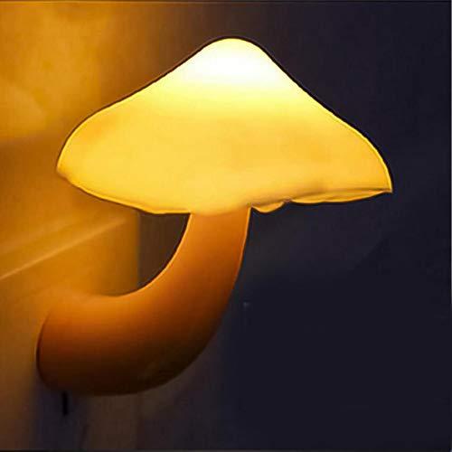 Luz De Noche Cartoon Shape Night Led lámpara de ahorro de energía luz niños regalo para niños bebé dormitorio setas luz nocturna Mushroom