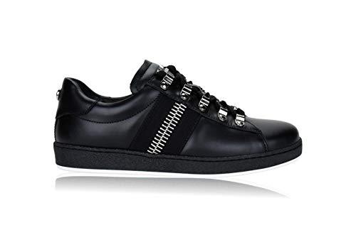 Balmain 0NO Eric Sneaker Herren Men's Shoes, Schwarz - Schwarz - Größe: 42 EU