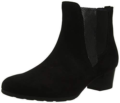 Gabor Shoes Comfort Sport, Botines Mujer, Negro (Schwarz (Micro) 47), 39 EU