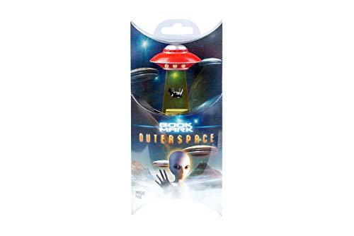 UFO Bookmarks Lesezeichen - Red: Intergalaktisches Einstecklesezeichen