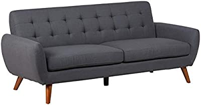 Amazon.com: Porter Designs U7777 Casper Tufted Sofa: Kitchen ...