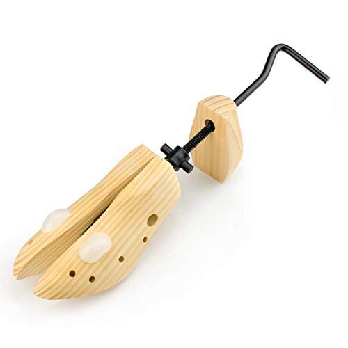 chungeng 1 Stück Schuh Dehnbar Kiefer Holz Schuh Expander Stütze Halterung Damen Herren Unisex für Heim Dekoration - Die Trompete Ist Passend für 34-38 Hof, Small