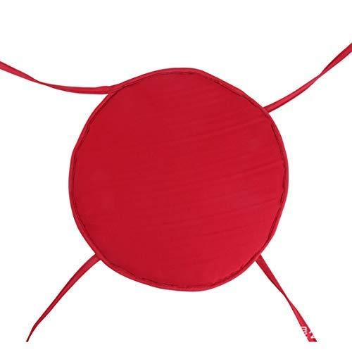MZY1188 Cojines de Silla con Lazos Almohadillas de Asiento,Cojines de Silla de Comedor, Cojines Redondos Antideslizantes extraíbles Lavables Asiento para jardín Patio Cocina Oficina