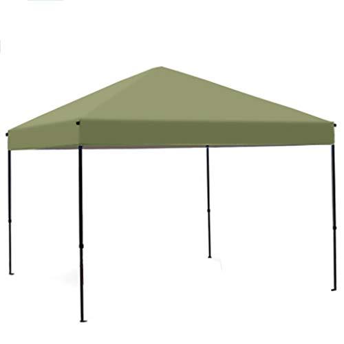 XYF Toldos Carpa Plegable 3×3, Refugio Toldo Camping con Paredes Laterales, Sombra Sol Cuadrado Impermeable, Toldo De Sol De Playa, Jardín, Exteriores, Postes Incluidos, para 6-8 Personas