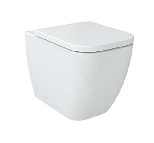 Stand-WC inkl. Soft-Close Sitz BTW-6023