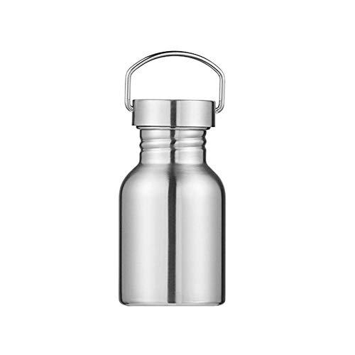 Kakoop Botella Agua Acero Inoxidable 350ml Aislada al Vacío de Conserva Frío Doble Pared para Gimnasio Entrenamiento Viajes Oficina Escuela