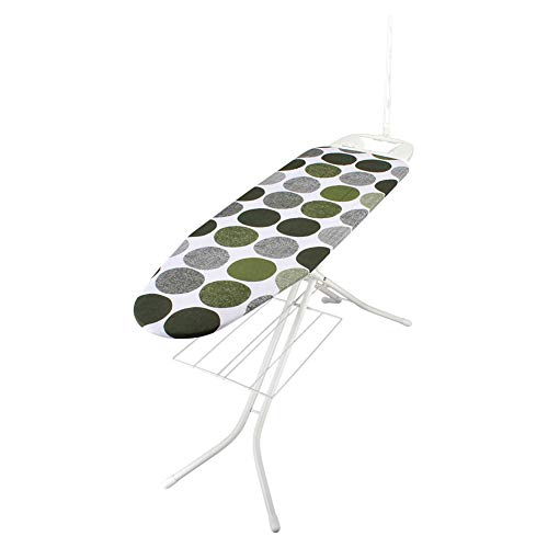 [ ロレッツ ] RORETS スタンド式 アイロン台 長さ120cm リブレット 高さ調節可 折りたたみ 9460 Libretto Ironing Board (White) Dots Green スリム 薄型 おしゃれ 北欧 [並行輸入品]