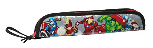Safta Portaflautas de Avengers, 370x20x80mm, Multicolor (Heroes)