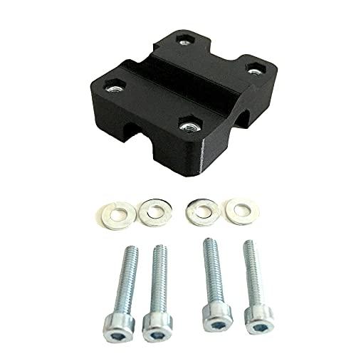 Supporto per traversino manubrio moto compatibile con Garmin Zumo (400-500-550-595-660 (13mm))