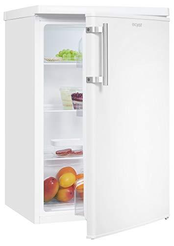 Exquisit Kühlschrank KS16-V-040E weiss | Standgerät | 130 l Volumen | Weiß