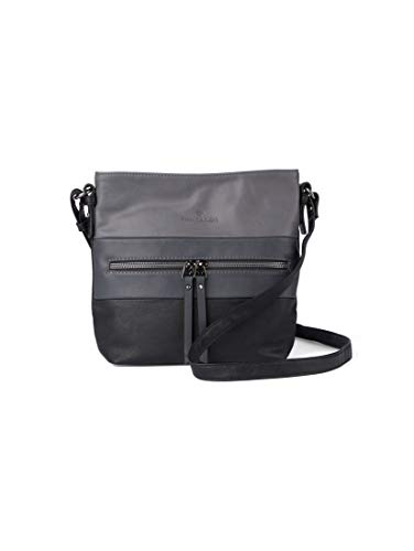 TOM TAILOR Damen Taschen & Geldbörsen Umhängetasche Ellen schwarz/black,OneSize