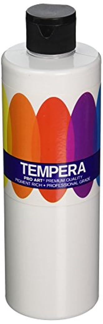 Pro Art Liquid Tempera Paint, 16-Ounce, White
