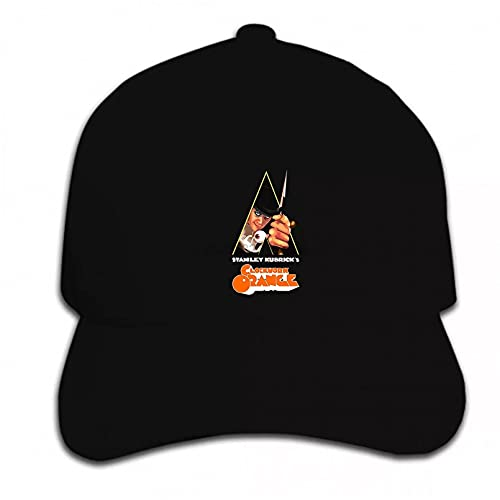 Lepilo Gorra de béisbol de la tendencia de la marca de la gorra de bb de la impresión de la gorra de béisbol del hip hop reloj naranja sombrero puntiagudo de regalo