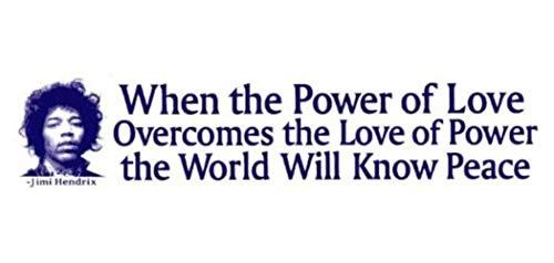 <span style=''>평화자원 프로젝트 지미 헨드릭스 스티커 사랑의 힘이 파워 월드의 사랑을 극복할 때 평화 대..</span>