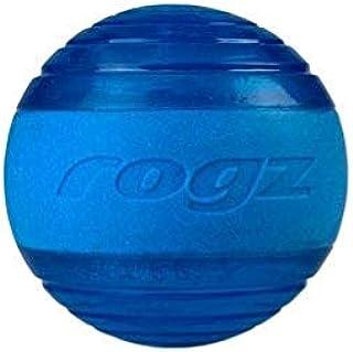 Rogz Squeekz Ball Blue