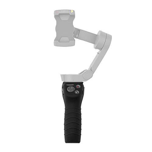 Gimbal Handle Silicone Cover Kompatibel für DJI OSMO Mobile 3 Handheld Kamera Gimbal Stabilisator, rutschfeste Gimbal Stabilizer-Schutzhülle Cover Anti-Slip Protect Case (Schwarz)