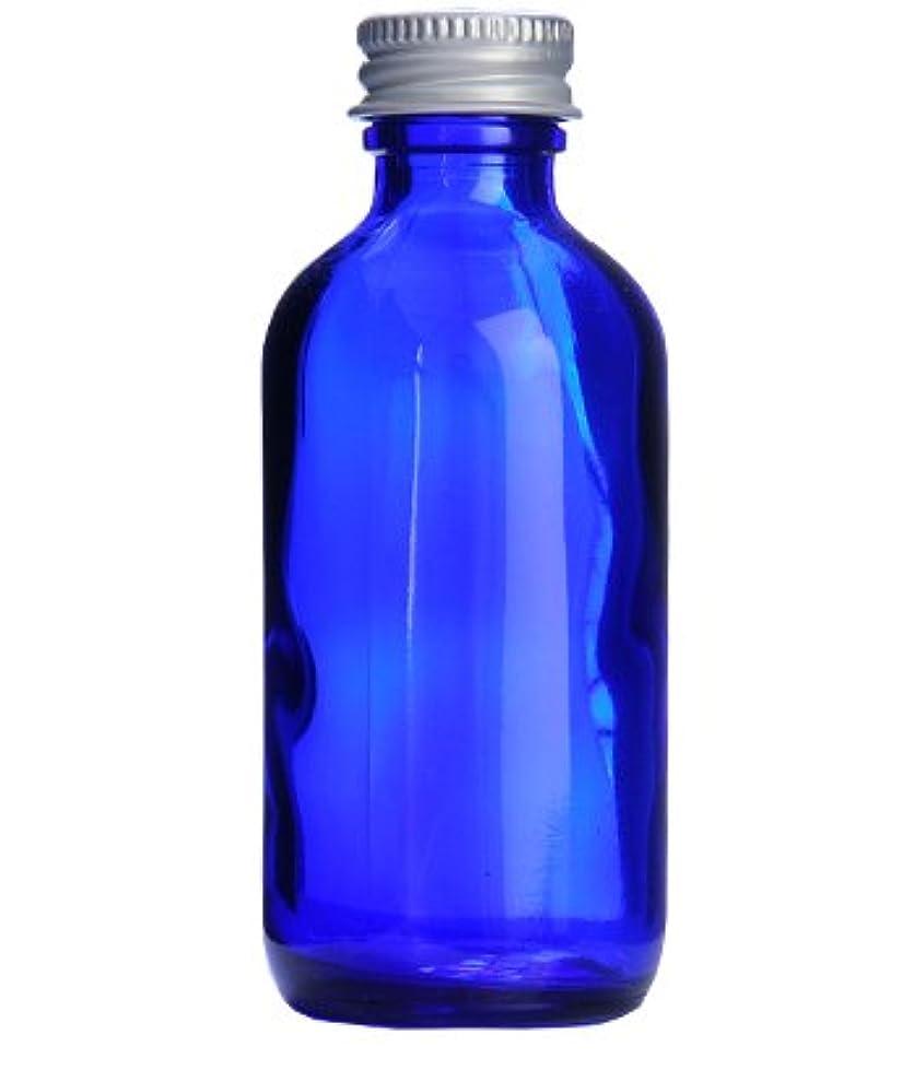 周囲密はぁコバルトガラスボトル?アルミキャップ[60ml]/1個