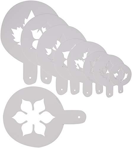 Martellato 5 pièces Open Masque Pochoir, 60 x 170 mm, Blanc