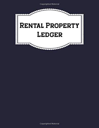 Real Estate Investing Books! - Rental Property Record Book Keeping Landlord Rental Property Ledger Notebook Accounting Ledger: Rental Property Manager Journal