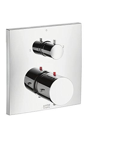 AXOR Starck X Unterputz Thermostat (mit Ab- und Umstellventil, für 2 Funktionen) chrom