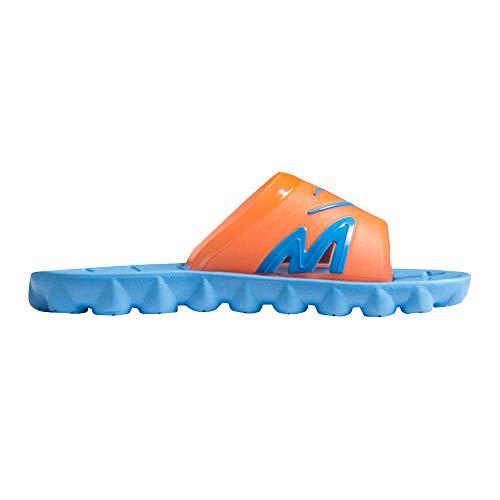 【BODYMAKER/ボディメーカー】 シャワーサンダル3 XL ブルー×オレンジ AS091XLBLOR ユニセックス メンズ 靴 くつ サンダル ビーチサンダル ビーチ スリッパ 海 プール