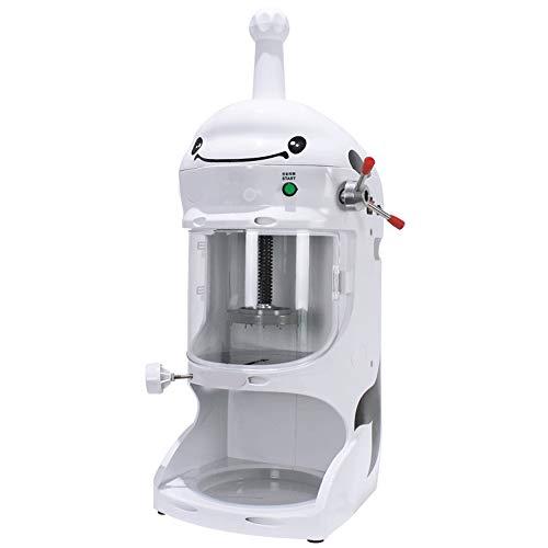 TQ 220V Gewerbe Soft Ice, Sahne-Maschine Vollautomatische Joghurt-Maschine Fancy Continuous Ice Crusher einschließlich Wanne und Blade