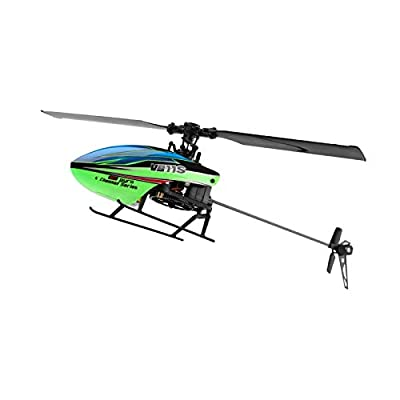 GRTVF 2.4G 4CH Remote Control Helicopter Indoor Outdoor RC Helicopter for Kids Adults, Remote Control Aircraft with 6-Aixs Gyro Flybarless RC Stunt Airplane by GRTVF