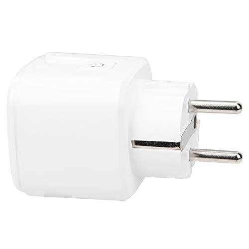 Asixxsix Enchufe Inteligente WiFi, Toma de Corriente Inteligente de Consumo de Electricidad,...