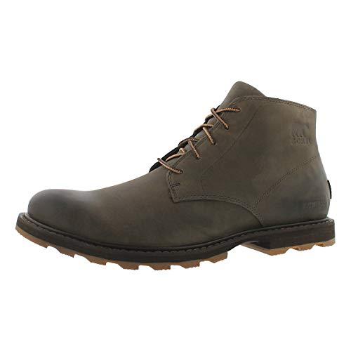 Sorel Men's Madson Chukka Waterproof Boots, Major Cordovan, 44