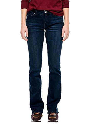 s.Oliver Damen 14.910.71.5872 Bootcut Jeans, Blau (Indigo Denim Stretch 56z4), 34W / 32L