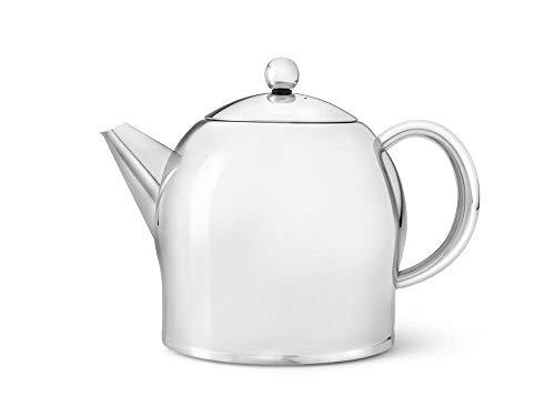doppelwandige Teekanne Minuet® Santhee Edelstahl hochglanzpoliert 1,4 ltr.